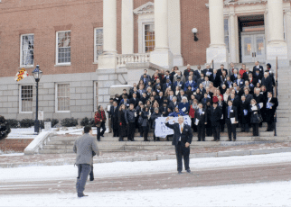 CPA Day receives warm welcome at Statehouse, despite snow on the ground
