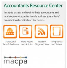 MACPA, Avalara launch sales tax / VUT resource center