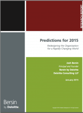 Report: 2015 will be 'tumultuous, transformational' year — and skills can calm the waters