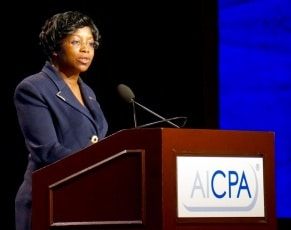 MACPA's own Kimberly Ellison-Taylor takes reins as AICPA vice chair