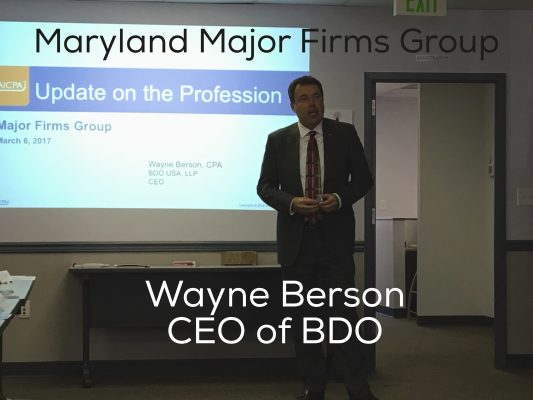 Maryland's major firms identify top trends, challenges, and skills
