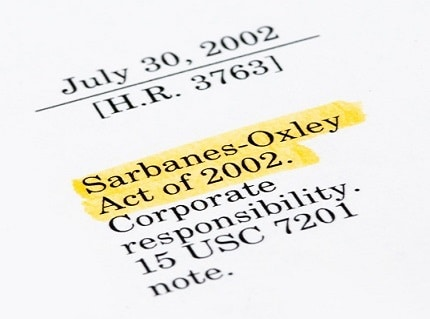 Sarbanes-Oxley turns 15: How some are celebrating