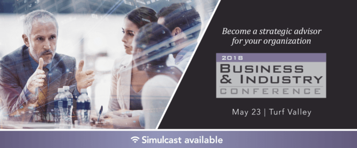2018 BUSINESS AND INDUSTRY CONFERENCE