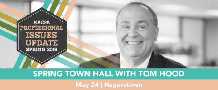 Spring Town Hall 2018: The Anticipatory CPA – Future Readying our Organizations and Future-Proofing Your Career