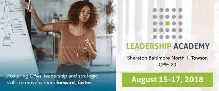 2018 MACPA Leadership Academy