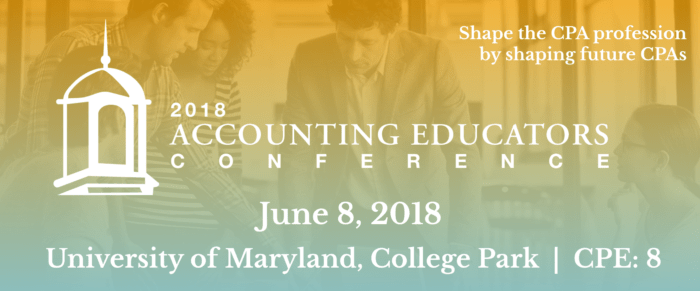 2018 ACCOUNTING EDUCATORS CONFERENCE
