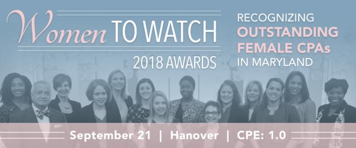 2018 Women to Watch Awards Breakfast
