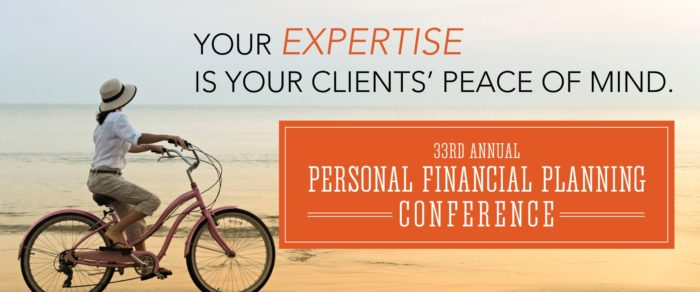 33rd ANNUAL 2018 PERSONAL FINANCIAL PLANNING CONFERENCE