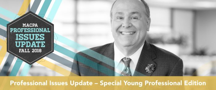 Professional Issues Update – Special Young Professional Edition Fall 2018