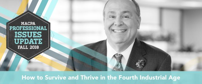 Fall Town Hall 2018: CPA 4.0 – How to Survive and Thrive in the Fourth Industrial Age