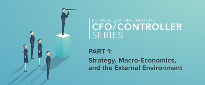 Controller & Financial Professional Series 2019 Part 1- Strategy, Macro-Economics, and the External Environment