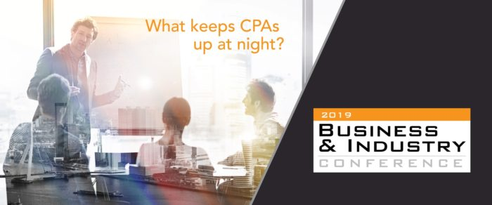 2019 BUSINESS AND INDUSTRY CPE CONFERENCE