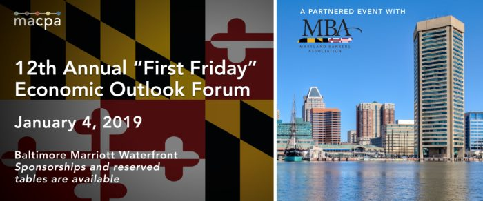 "12th Annual ""First Friday"" Economic Outlook Forum"