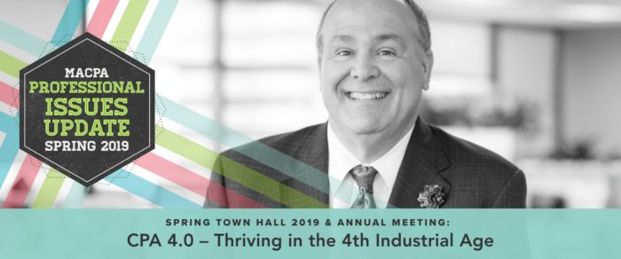 CPA 4.0 – Thriving in the 4th Industrial Age: Spring Town Hall 2019 & Annual Meeting
