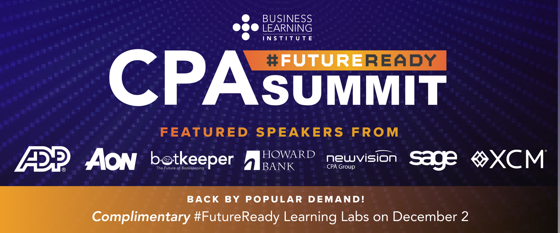 2019 CPA #FUTUREREADY SUMMIT