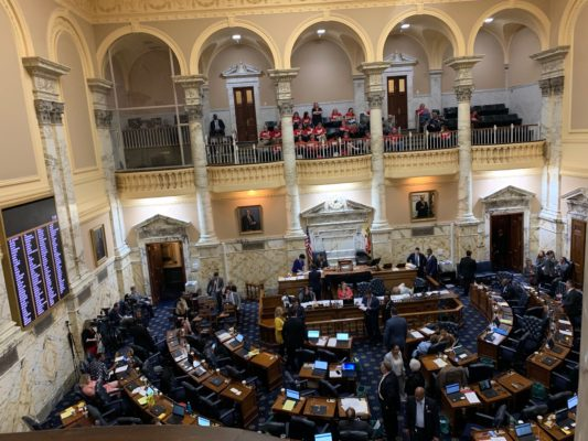 Legislative Report from the Maryland General Assembly, Sine Die