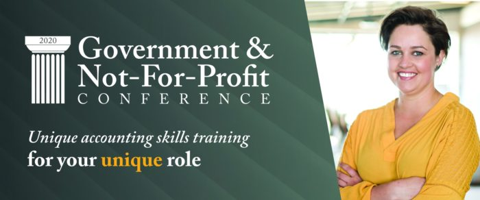 2020 GOVERNMENT AND NOT-FOR-PROFIT CONFERENCE