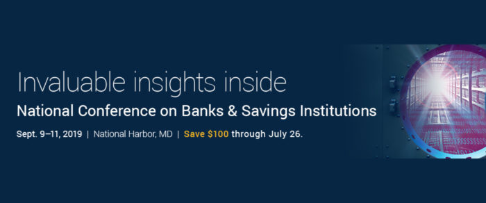 AICPA National Conference on Banks & Savings Institutions
