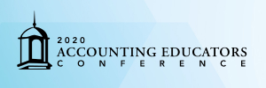 2020 ACCOUNTING EDUCATORS VIRTUAL CONFERENCE (LIVE ONLINE)