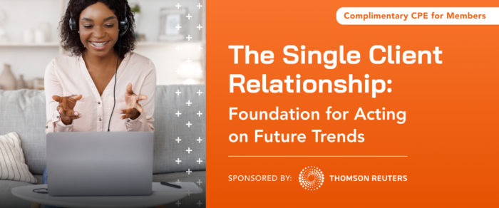 The Single Client Relationship: Foundation for Acting on Future Trends