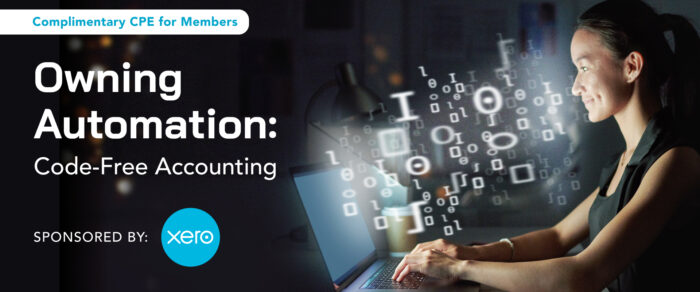 Owning Automation: Code-Free Accounting (a Sponsored webevent brought to you by Xero)