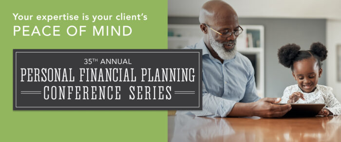 2020 PERSONAL FINANCIAL PLANNING CONFERENCE SERIES
