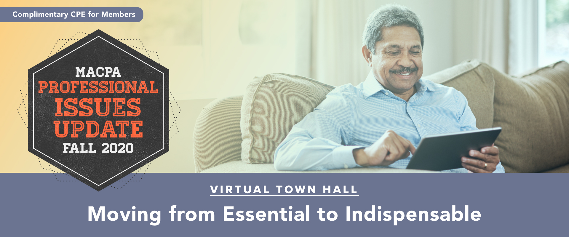 Fall Town Hall 2020:  Moving from Essential to Indispensable (October Update)
