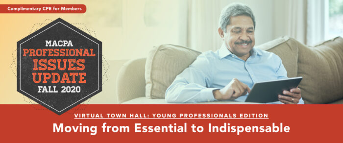 Fall Town Hall 2020:  Moving from Essential to Indispensable – Emerging Leader Edition