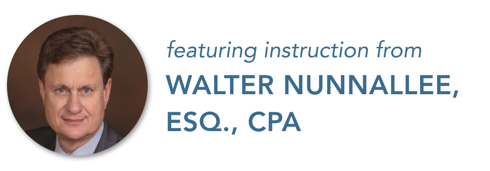 Featuring Instruction from Walter Nunnallee