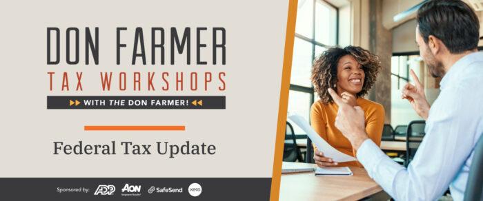 Don Farmer's 2021 Federal Tax Update