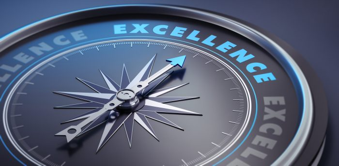 'Excellence is the next five minutes'