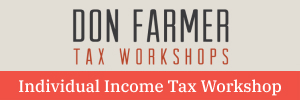 Don Farmer's 2021 Individual Income Tax Workshop