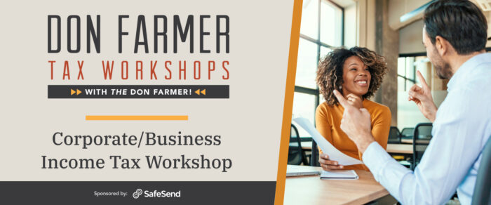 Don Farmer's 2021 Corporate/Business Income Tax Workshop