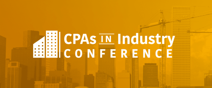 2018 CPAs in Industry Conference