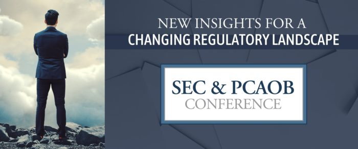 2018 SEC and PCAOB Conference