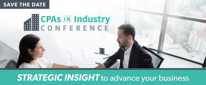 2019 CPAs In Industry Conference