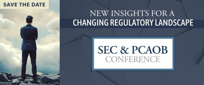 2019 SEC and PCAOB Conference