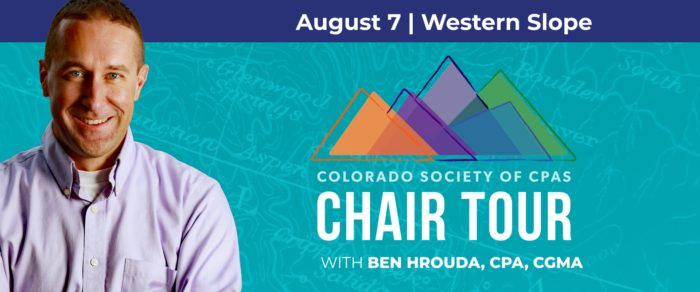 Western Slope Chapter 2019 Chair Tour Lunch