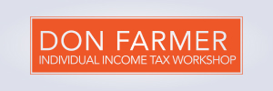 Don Farmer's 2019 Individual Income Tax Workshop (Maryland Webcast)