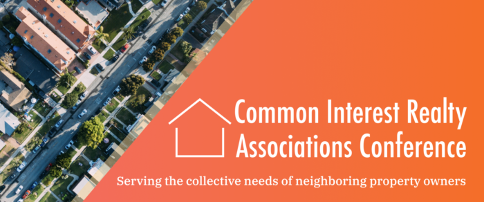 Common Interest Realty Associations Conference (CIRA-18)