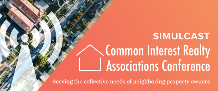 Common Interest Realty Associations Conference Simulcast (CIRAWEB-18)
