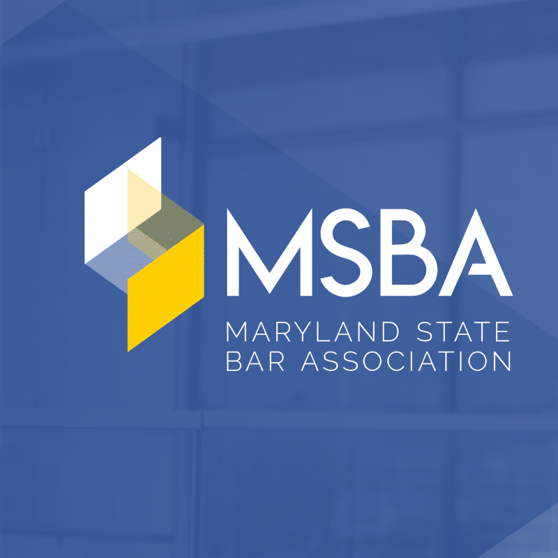 MSBA and the 2021 General Assembly – New Advocacy Feature