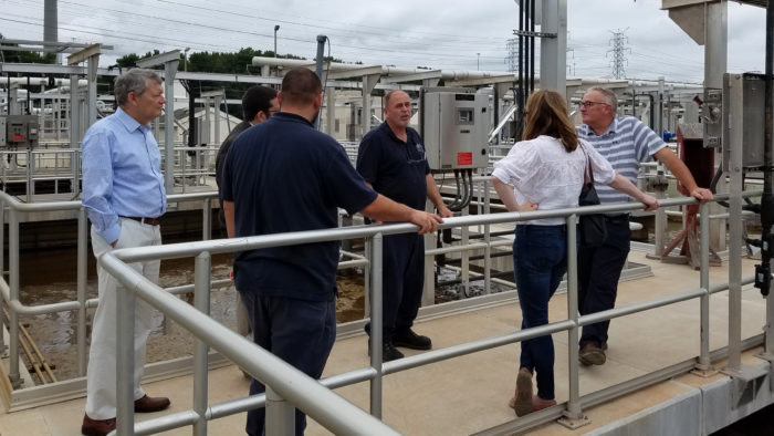 Environment and Energy Law Section Tours New Wastewater Facility