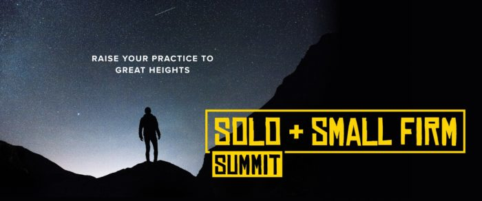 2020 Solo & Small Firm Summit