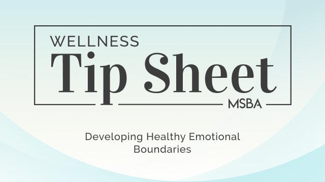 Developing Healthy Emotional Boundaries