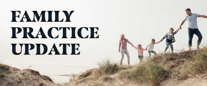 2019 Family Practice Update  (4.0 CLE)