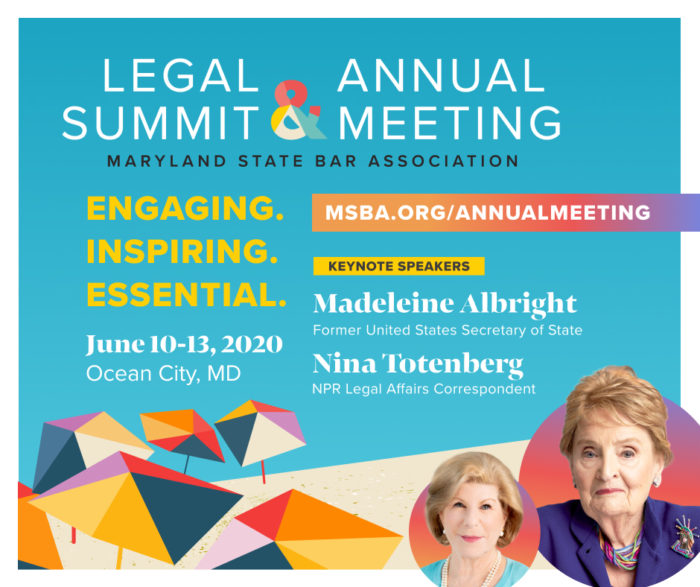 MSBA Legal Summit & Annual Meeting Update