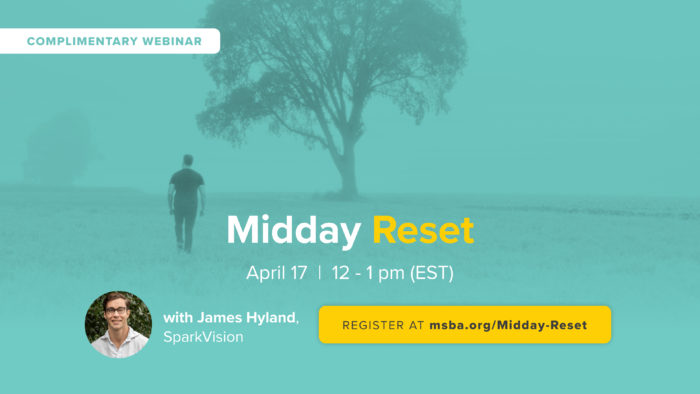 Looking for some stress relief?  Join us for a Midday Reset