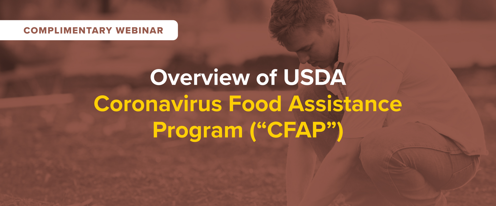 "Overview of USDA Coronavirus Food Assistance Program (""CFAP"")"