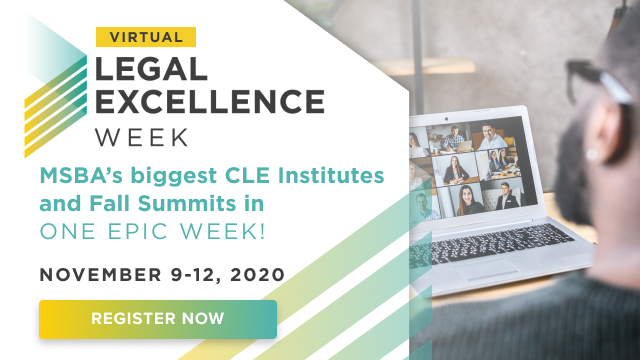 Nearly 800 Attorneys Are Joining Legal Excellence Week! Don't Miss Out!